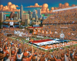 Dowdle Jigsaw Puzzles - Texas Longhorns