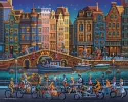 Dowdle Jigsaw Puzzles - Amsterdam