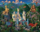 Imaginary Dragons - 500pc Jigsaw Puzzle by Dowdle