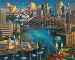 Dowdle Jigsaw Puzzles - Sydney
