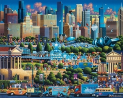 Dowdle Jigsaw Puzzles - Chicago