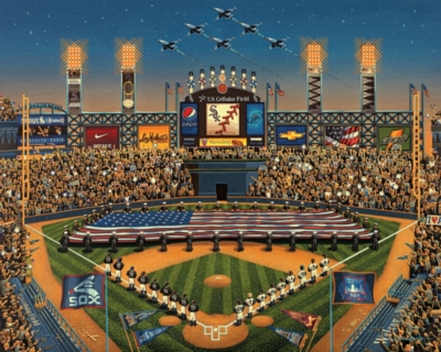Dowdle Jigsaw Puzzles - Chicago White Sox