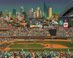 Dowdle Jigsaw Puzzles - Seattle Mariners