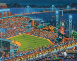 Dowdle Jigsaw Puzzles - San Francisco Giants