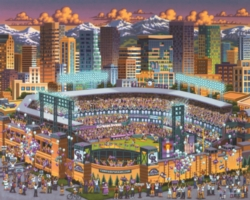 Dowdle Jigsaw Puzzles - Colorado Rockies