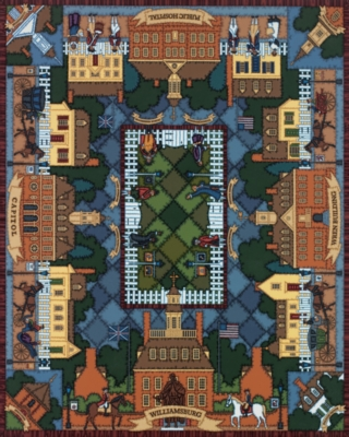 Dowdle Jigsaw Puzzles - Williamsburg Quilt