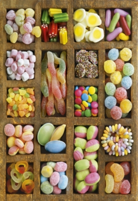 Educa Jigsaw Puzzles - Sweet Collage