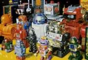 Educa Jigsaw Puzzles - Robots