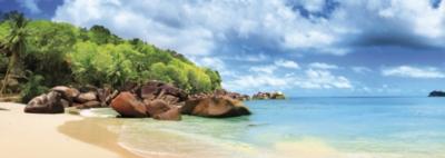 Educa Panoramic Jigsaw Puzzles - Mahe Island, Seychelles