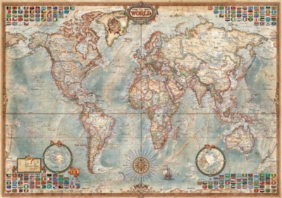 Educa Jigsaw Puzzles - Political Map of the World