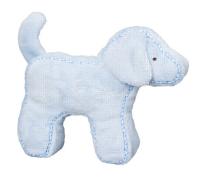 Blue Dog - 7'' Squeaker By Douglas Cuddle Toy