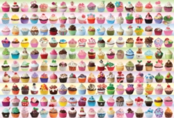 Eurographics Jigsaw Puzzles - Cupcakes Galore
