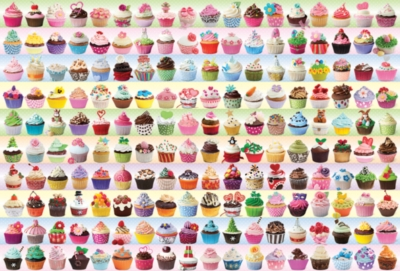 Eurographics Jigsaw Puzzles - Cupcakes Galore