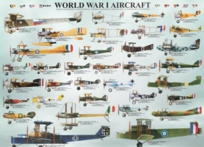 Eurographics Jigsaw Puzzles - WWI Aircraft