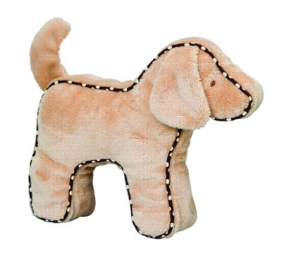 Tan Dog - 7'' Squeaker By Douglas Cuddle Toy