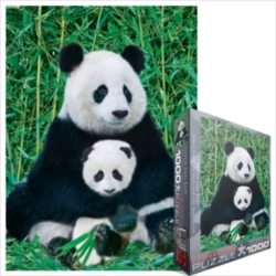 Eurographics Jigsaw Puzzles - Panda Bear & Baby