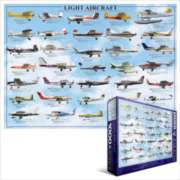 Eurographics Jigsaw Puzzles - Light Aircraft