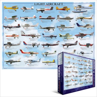 Eurographics Jigsaw Puzzles - Light Aircraft