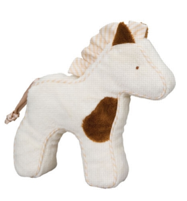 Spotted Horse - 7'' Squeaker By Douglas Cuddle Toy