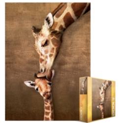 Eurographics Jigsaw Puzzles - Giraffe Mothers' Kiss