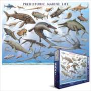 Prehistoric Marine Life - 1000pc Jigsaw Puzzle by Eurographics