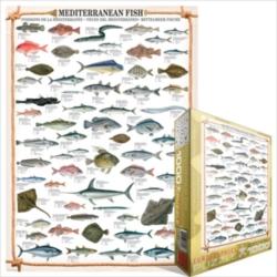 Eurographics Jigsaw Puzzles - Mediterranean Fish