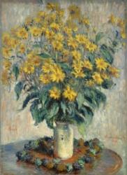 Eurographics Jigsaw Puzzles - Monet: Jerusalem Artichoke Flowers
