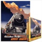 Travel CP Across Canada - 1000pc Jigsaw Puzzle by Eurographics