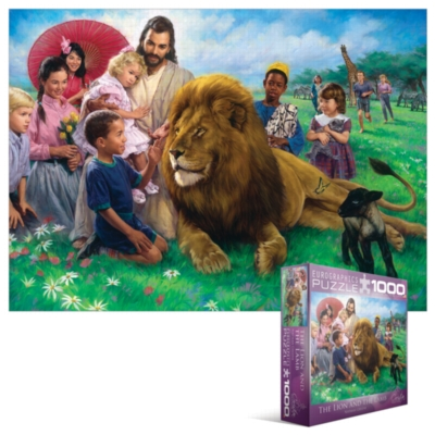 Eurographics Jigsaw Puzzles - The Lion and the Lamb