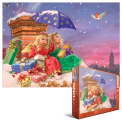 Eurographics Jigsaw Puzzles - Angels on the Roof