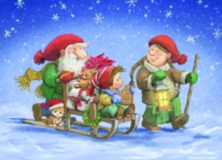 Eurographics Jigsaw Puzzles - Christmas Sleigh