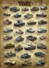World War II Tanks - 1000pc Jigsaw Puzzle by Eurographics