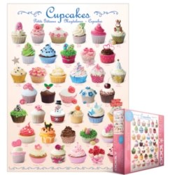 Eurographics Jigsaw Puzzles - Cupcakes
