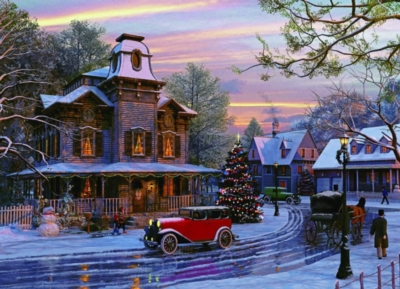 Eurographics Jigsaw Puzzles - Driving Home for Christmas