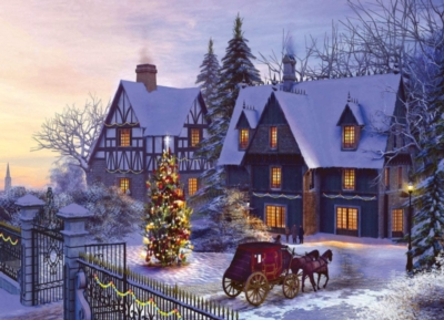 Eurographics Jigsaw Puzzles - Home for the Holidays