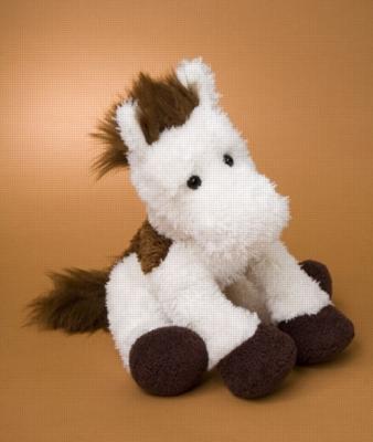 Eddy Cream - 14'' Horse By Douglas Cuddle Toy