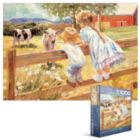 Kids on a Fence - 1000pc Jigsaw Puzzle by Eurographics