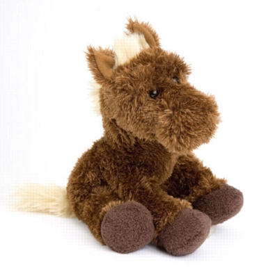 Franny Brown - 10'' Horse By Douglas Cuddle Toy