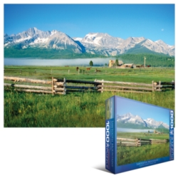Eurographics Jigsaw Puzzles - Sawtooth Mountains, ID