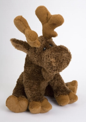 Mildred - 14'' Moose By Douglas Cuddle Toy