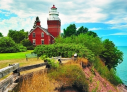 Eurographics Jigsaw Puzzles - Big Bay Lighthouse, MI