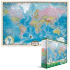 Eurographics Map of the World - 1000pc Jigsaw Puzzle by Eurographics