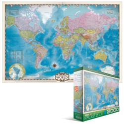 Eurographics Jigsaw Puzzles - Eurographics Map of the World