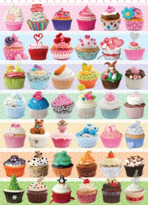 Eurographics Jigsaw Puzzles - Cupcakes Occasions
