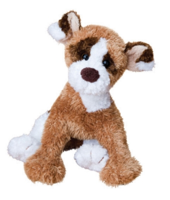 """Syd Jack Russell Mix - 14"""" Dog By Douglas Cuddle Toy"""
