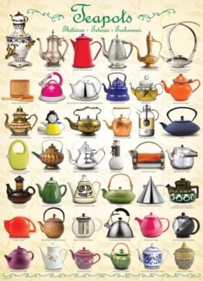 Eurographics Jigsaw Puzzles - Teapots