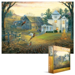 Eurographics Jigsaw Puzzles - Country Crossing Pheasants