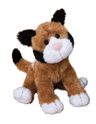 Wiggles Calico - 14'' Cat By Douglas Cuddle Toy