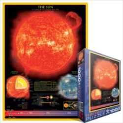 Eurographics Jigsaw Puzzles - The Sun