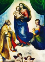 Eurographics Jigsaw Puzzles - Raphael: Sistine Madonna